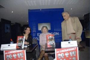 Hélène Kosséian auteur et Arsène Tchakarian auteur - dernier résistant (96 ans) à Marseille